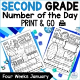 Number Sense Place Value Practice Number of the Day Second