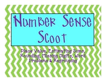Number Sense & Place Value Scoot