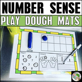 Number Sense Play Dough Mats 0-20