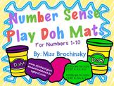 Number Sense Play Dough Mats