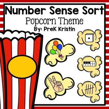 Number Sense Popcorn Sort