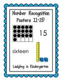 Number Sense Posters 11-20