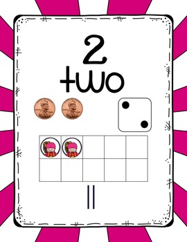 Number Sense Posters Super Hero Theme 1-20