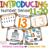 Number Sense PowerPoint Lessons 11-20, Ways to Show Number