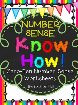 Number Sense Know How Number Sense Practice For Numerals