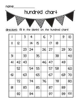 Number Sense Practice Pages