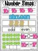 Number Sense Practice Sheet FREEBIE