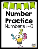 Number Sense Practice and Review Worksheets