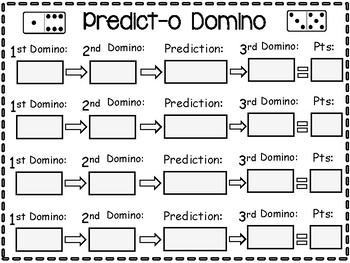 Number Sense Predicting Game for Grades 1-3