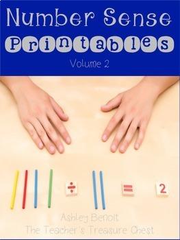 Number Sense Printables