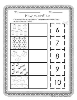 Number Sense Printables Pack! Numbers 0-30!
