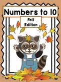 Number Sense Printables - Numbers 1-10 - Fall Edition