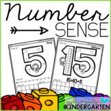 Number Sense Activities - Number Recognition - Teen Numbers