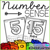 Number Sense Activities - Number Recognition - Teen Numbers