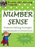 SAMPLE | Number Sense:  Problem-Solving Strategies and Vocabulary Connections