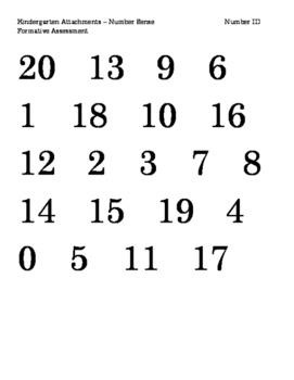 Number Sense Progress Monitoring