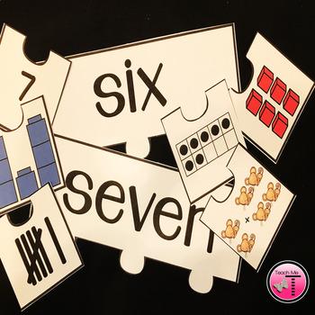 Number Sense Puzzles| Numbers 1-20