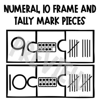 Number Sense Puzzles - A Math Center Activity
