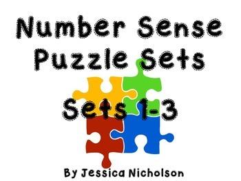 Number Sense Puzzles -  ALL 3 Sets