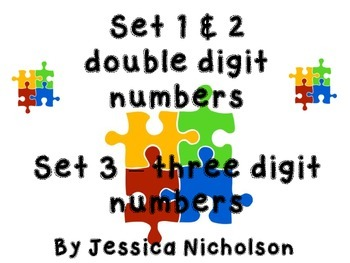Number Sense Puzzles -  ALL 3 Sets