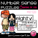 Number Sense Puzzles Counting by Ten| Numbers to 120