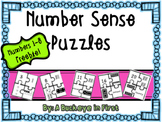 Number Sense Puzzles FREEBIE