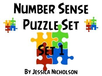 Number Sense Puzzles - Set 1