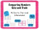 Place Value, Comparing: Quiz and Trade 2 Game Bundle - Millions Set