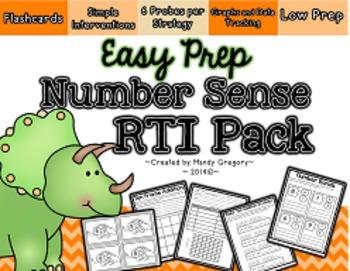 Number Sense RTI Pack