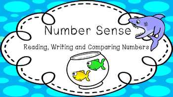 Number Sense and Place Value - Reading, Writing, and Comparing Numbers