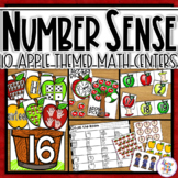 Apple Math Activities - Number Sense and Recognition for Numbers 0-20