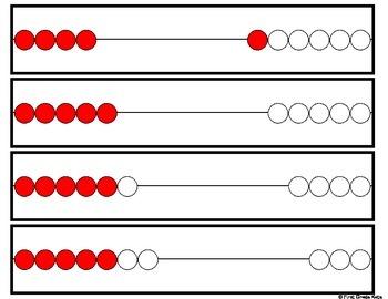 Number Sense: Rekenrek Cards & Activities