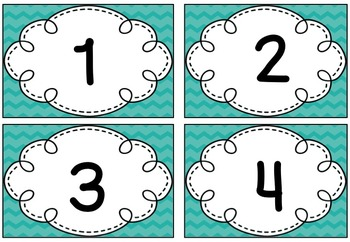 Number Identification Resources / Numbers, Number Words and Ten Frames *FREEBIE*