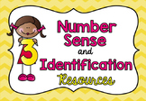Number Identification Resources / Numbers, Number Words an