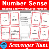 Number Sense Place Value Scavenger Hunt