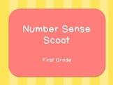 Number Sense Scoot- First Grade