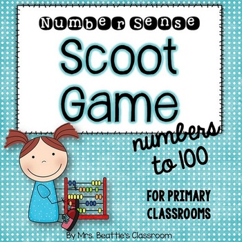 Numbers to 100 Scoot Game