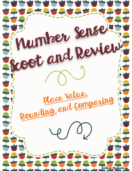 Number Sense Scoot and Review