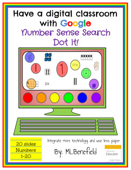 Number Sense Search -Dot It! (in Google: Digital and Interactive)