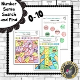Number Sense Search and Find 0-10