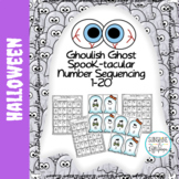 Halloween Activities Sequencing Numbers 1-20