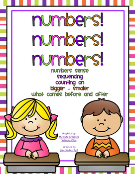 Number Sense, Sequencing, Number Order and Much Much More!