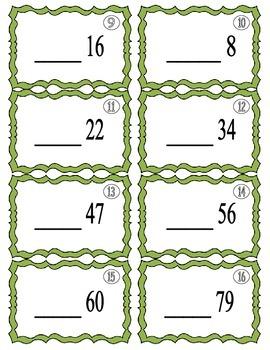 Number Sense Shuffle