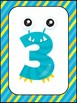 Number Sense Silly Monsters