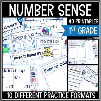 Number Sense - Math Skill Builder