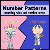 Number Sense & Skip Counting Math Centers (Common Core / G