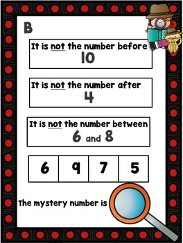 Number Sense Sleuth