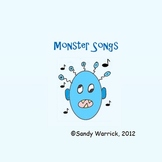 Number Sense Songs for Monsters on the Bus Activities