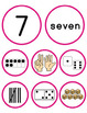 Number Sense Sort - Subitizing Cards