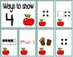 Number Sense Sorts for August (0 to 10)